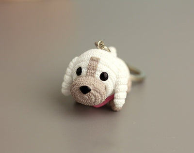 Lovely Dog Keychain