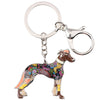 Greyhound Key Chain