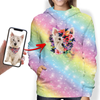 Beautiful Flowers - Personalized Hoodie With Your Pet's Photo