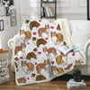 Rough Collie Blanket