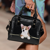 Pembroke Welsh Corgi Shoulder Handbag V4