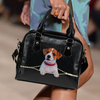 Jack Russell Terrier Shoulder Handbag V1