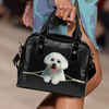 Maltese Shoulder Handbag V2