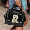West Highland White Terrier Shoulder Handbag V2