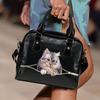 Maine Coon Cat Shoulder Handbag V1