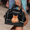 Maine Coon Cat Shoulder Handbag V2