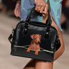 German Pinscher Shoulder Handbag V1