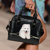 Samoyed Shoulder Handbag V2