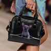 Sphynx Cat Shoulder Handbag V2