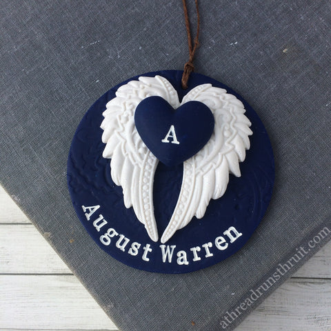 Loss of Loved One Memorial Ornament - Sympathy Gift for Grieving Friends and Loved Ones