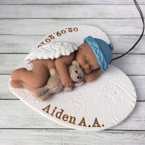 Miscarriage Gift Infant Loss Ornament -  Baby Angel Keepsake Gift