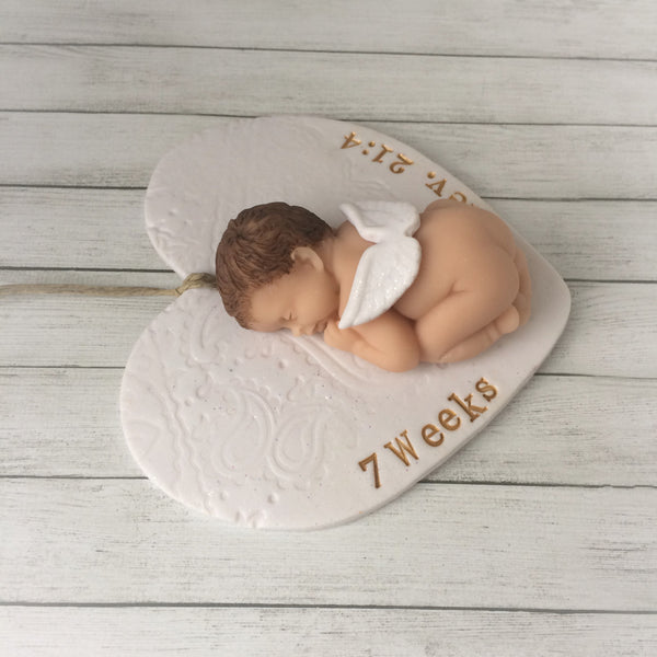 Infant loss sympathy gift for loss of baby to stillbirth, early miscarriage or any type of pregnancy and infant loss.