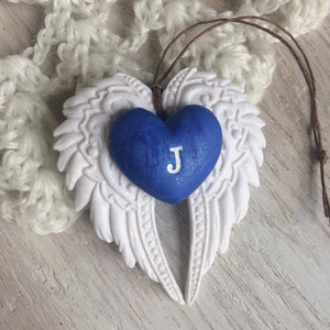 Angel Wings Memorial Ornament for Loss of Loved One - More Colors Available
