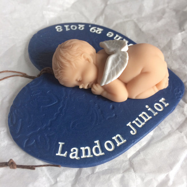 Baby Memorial Ornament - Sympathy Gift for Miscarriage & Pregnancy Loss
