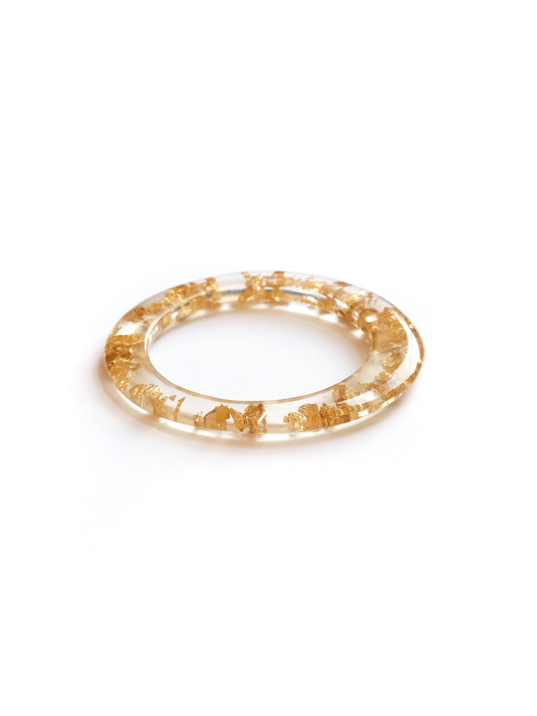 Gold Leaf Slim Cuff
