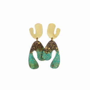 Petite Forest Fauvism Earring