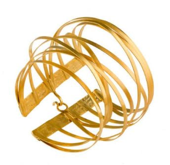 Bronze Multi Wire Cuff