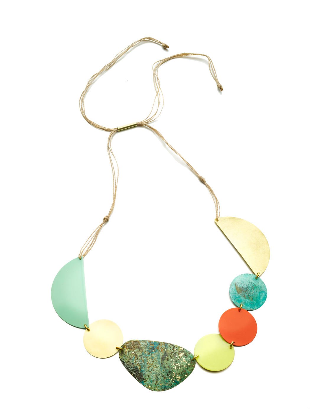 Patina Mix Necklace