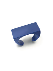 Royal Blue Resin Cuff