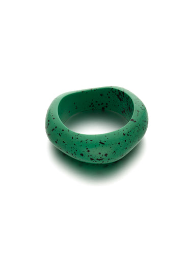 Green Speckled Bangle