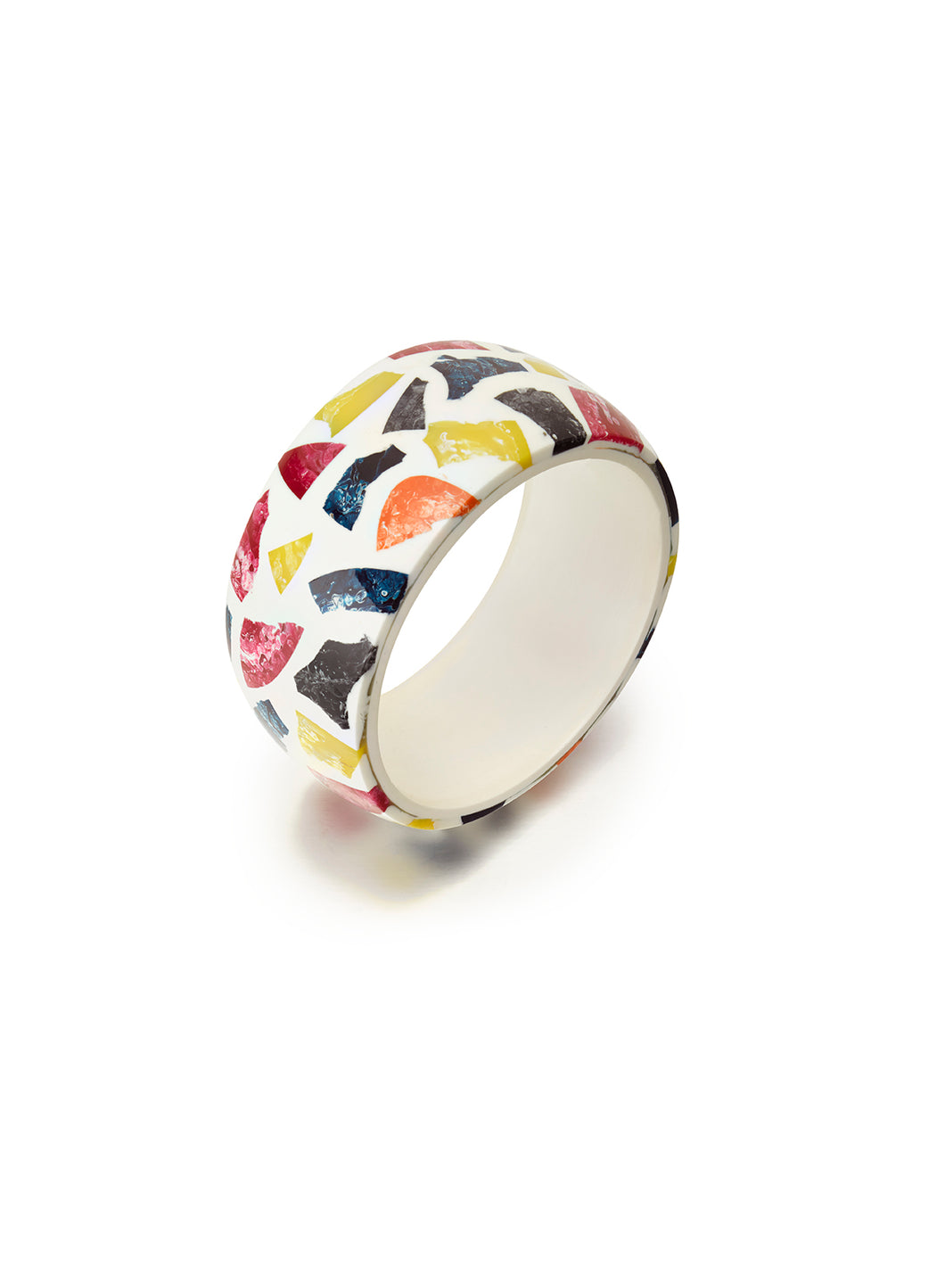 Pink & Blue Terrazo Bangle