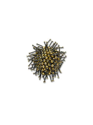 Bronze Sea Urchin Brooch