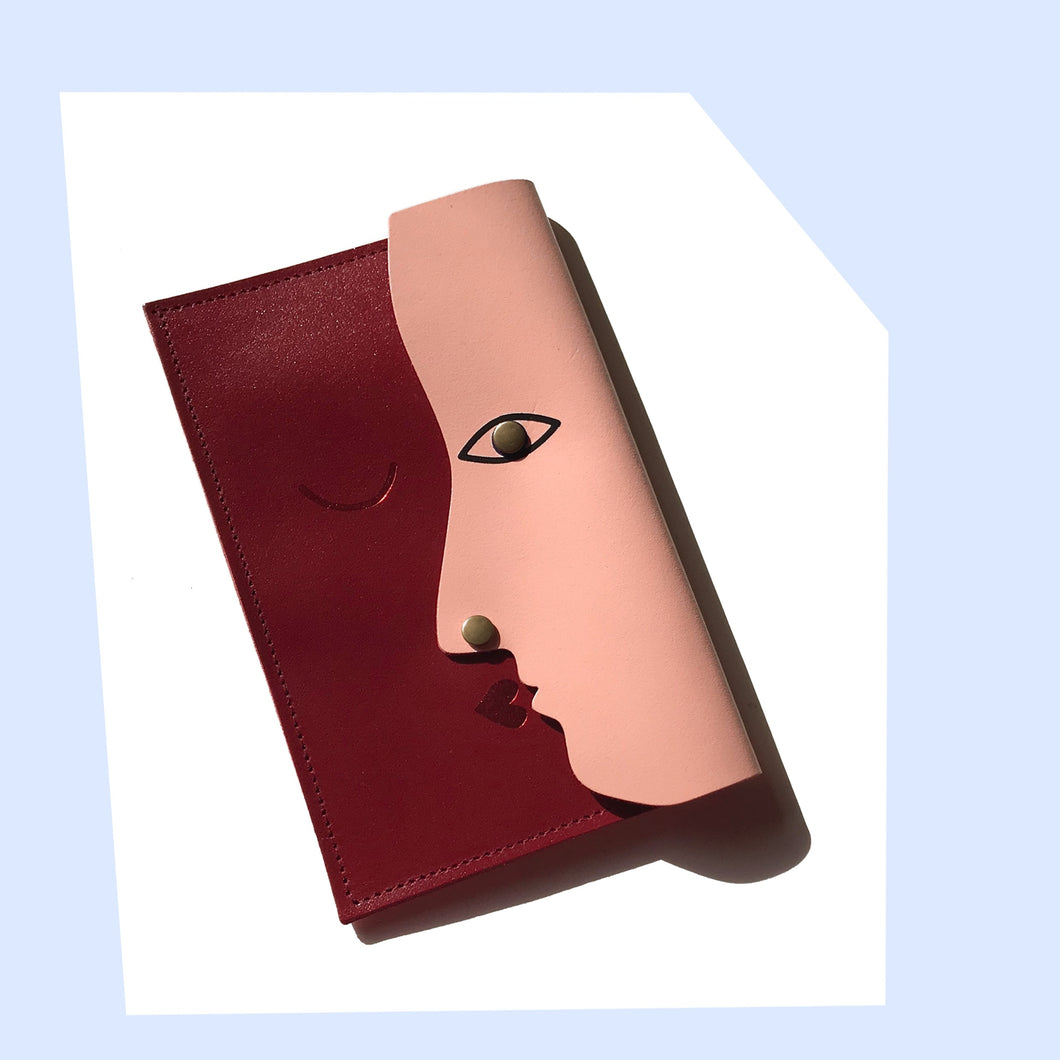 Kissing Clutch Bag