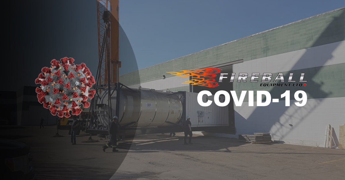 Fireball Equipment - Covid-19