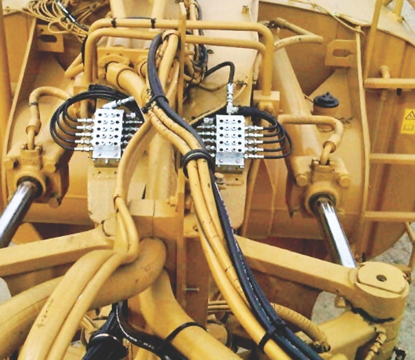 Heavy Equipment Auto Lube System Automated