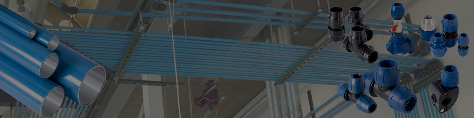 Purstream compressed air piping