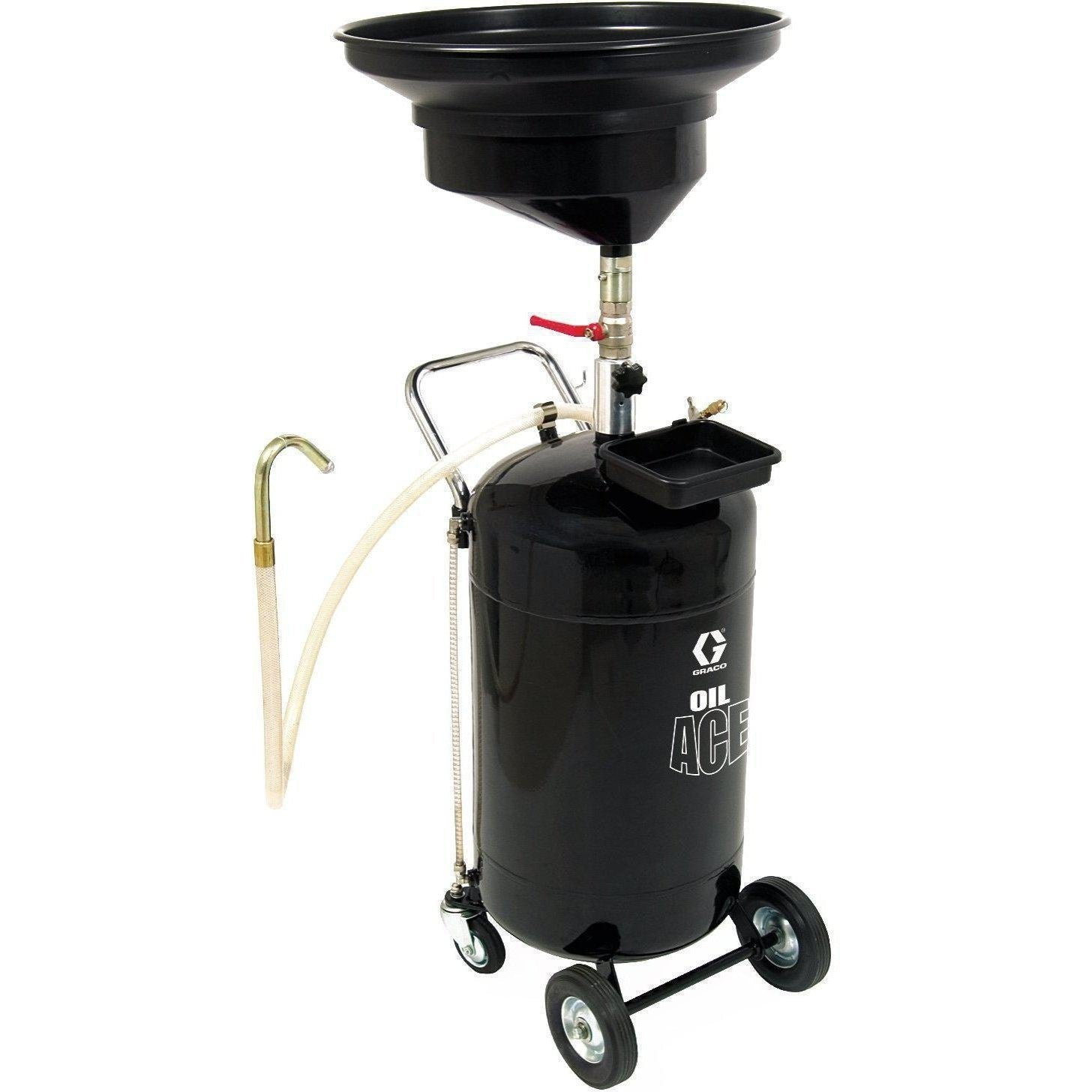 Graco 119577 24 Gal (90 L) Steel-Tank Pressurized Oil Drain - Fireball Equipment Ltd.