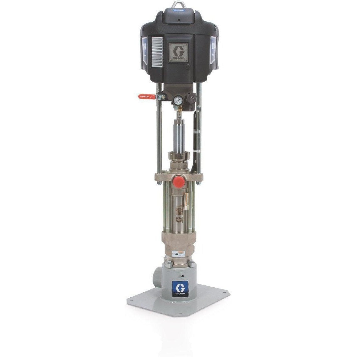 Graco 247976 Nxt™ Check-Mateâ® 26:1 Grease Pump Package With Datatrak - Floor Standing - Fireball Equipment Ltd.