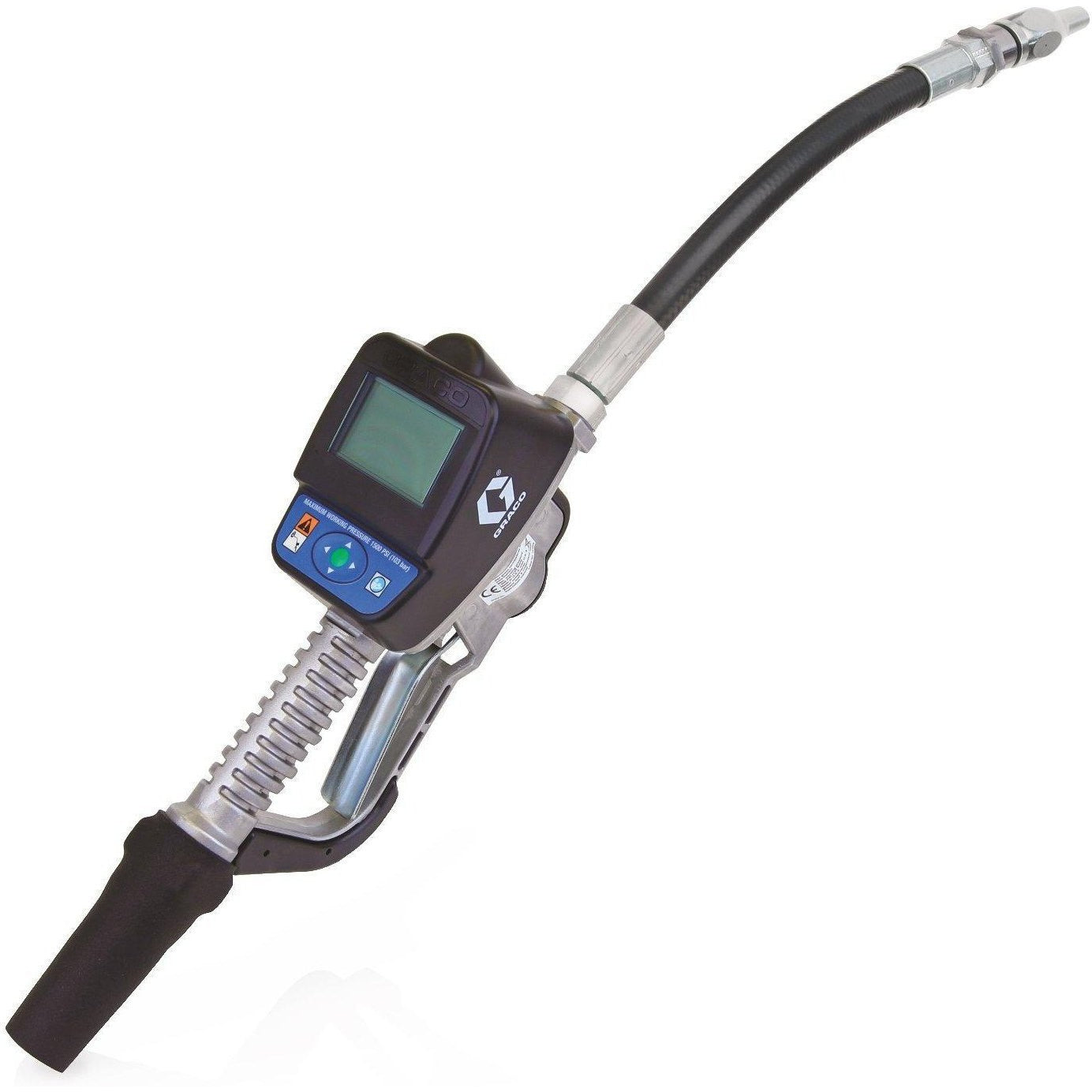 "24H132-Graco 24H132 Sdm5 Series Electronic Manual Anti-Freeze Meter - Flexible Extension - 1/2"" Inlet - Bspp-Order-Online-Fireball-Equipment"