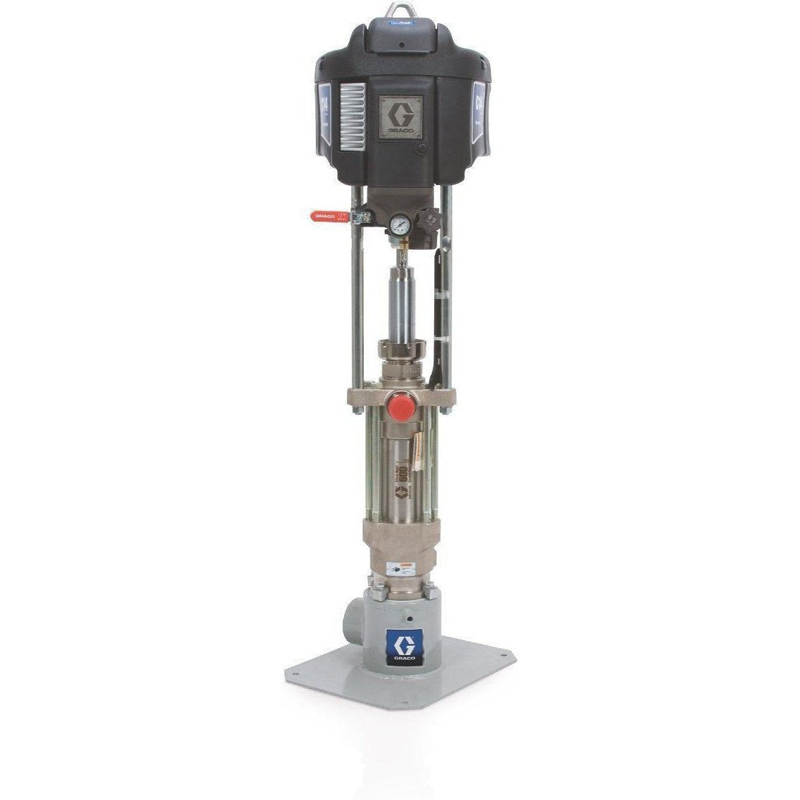 P63Mcs-Graco P63Mcs Nxt™ Check-Mateâ® Air-Powered 63:1 Grease Pump With Datatrak-Order-Online-Fireball-Equipment