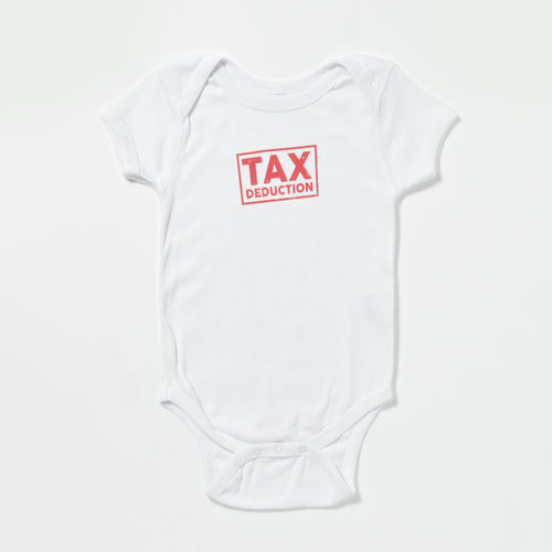 Tax Deduction onesie