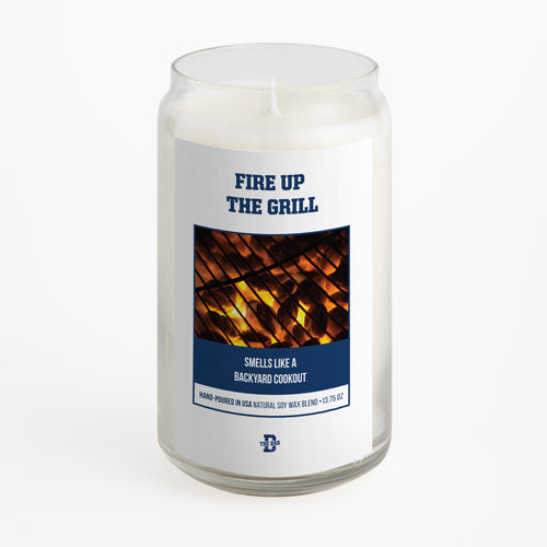 Fire Up The Grill Candle