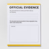 Official Evidence notepad