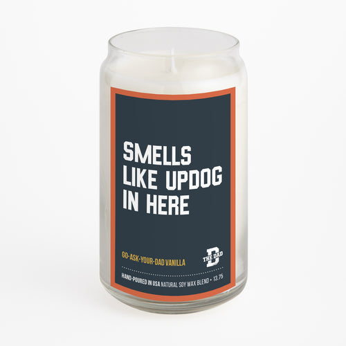 Smells Like Updog candle