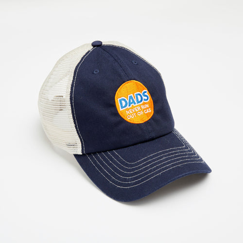Dads Never Run Out trucker hat