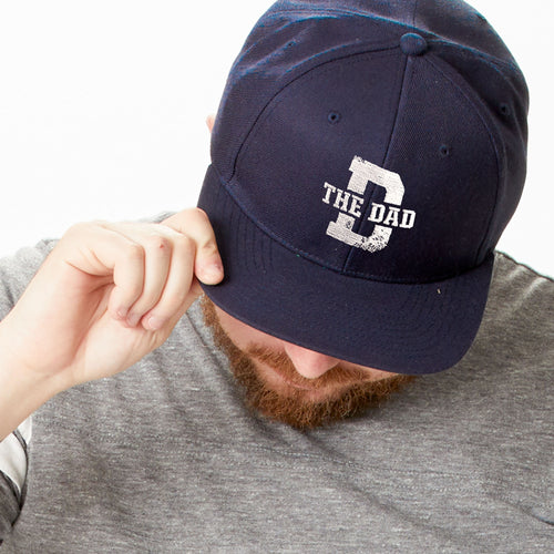 The Dad flat brim hat