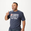 00 Days Without a Dad Joke t-shirt