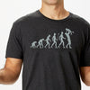 Evolution of Dad t-shirt