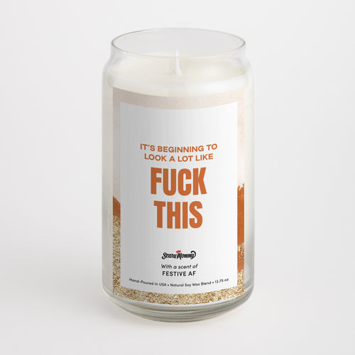 The Best FUCKIN' Holiday Candle Gift Set Ever