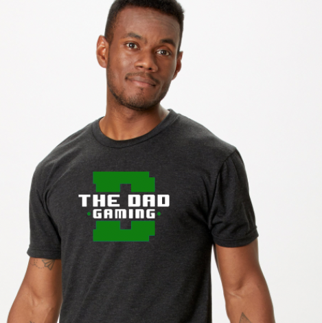 The Dad Gaming t-shirt