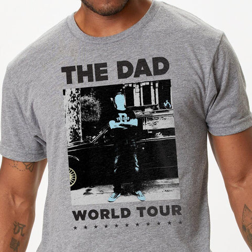 The Dad World Tour II t-shirt