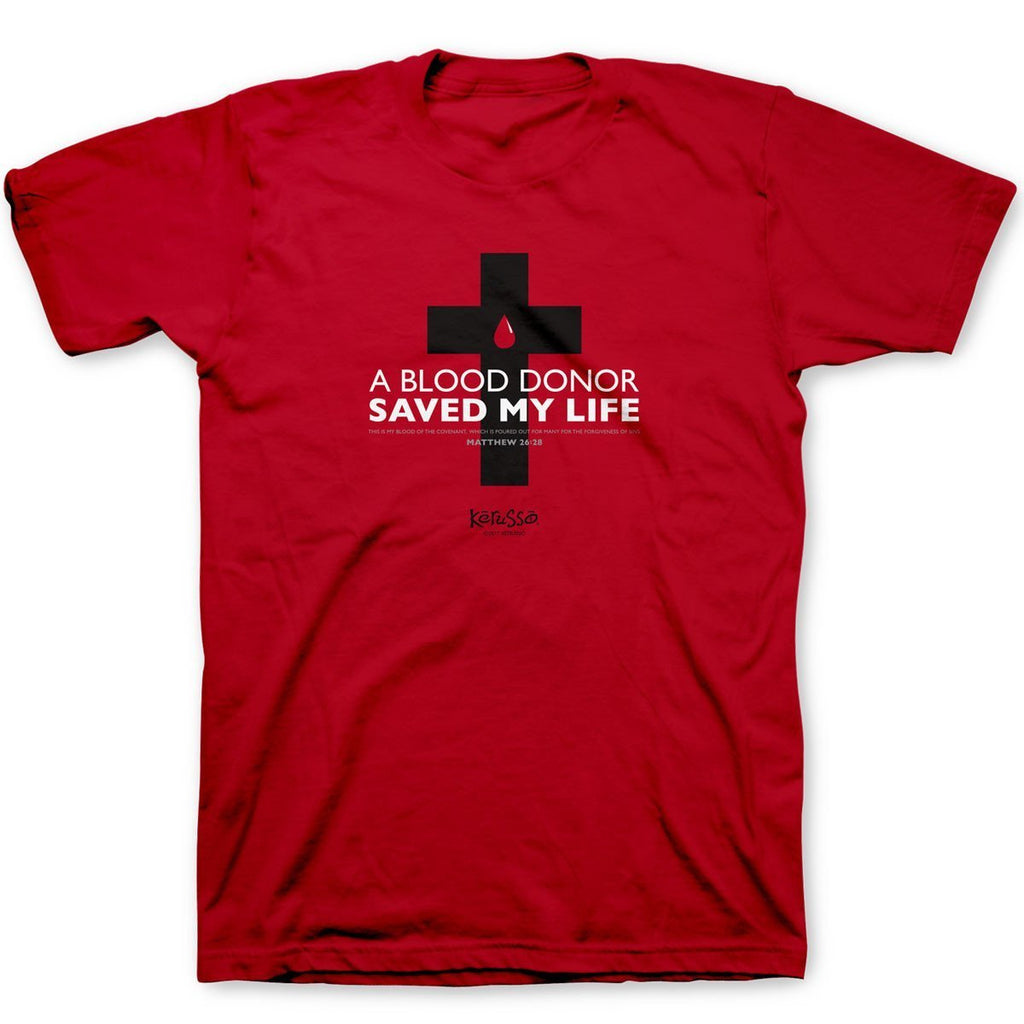 Blood Donor Red T-Shirt ™