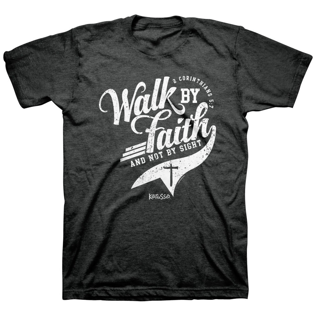 Kerusso® Adult T-Shirt - Walk By Faith
