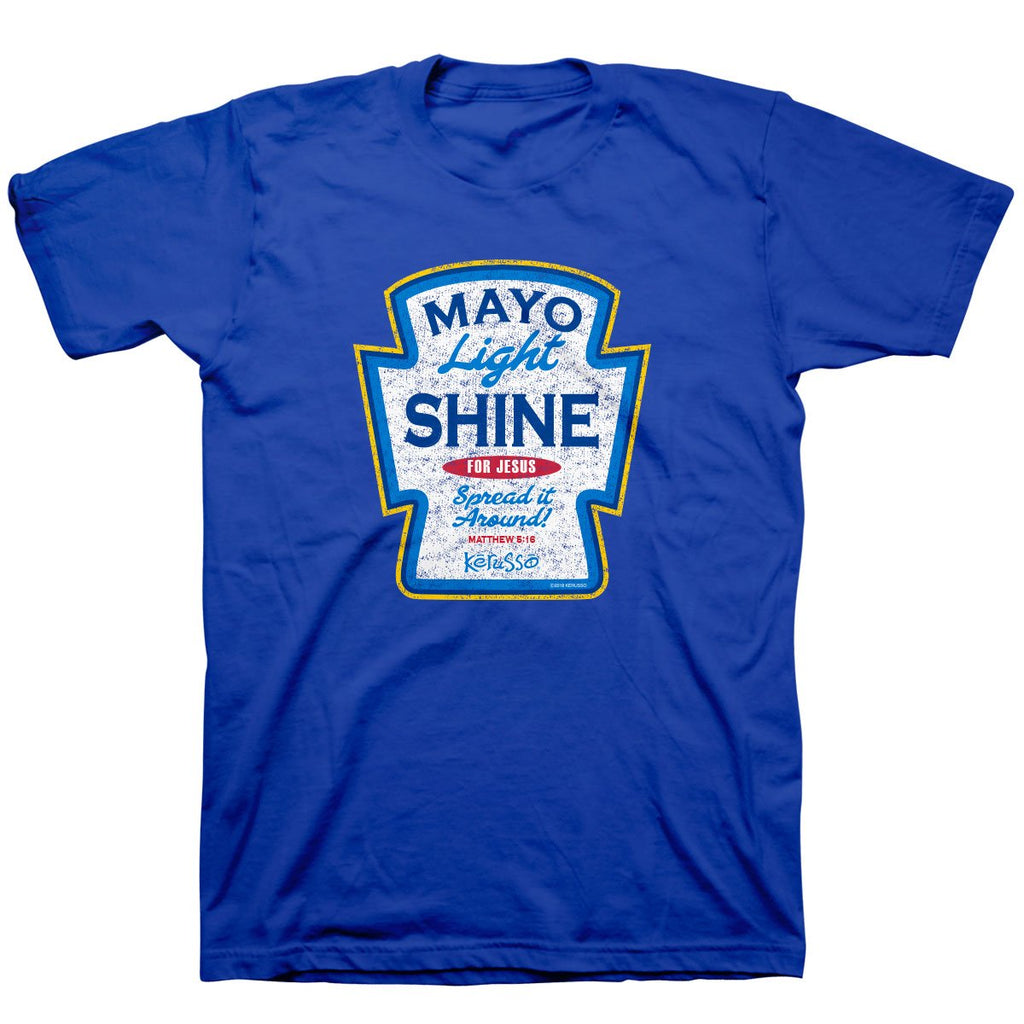 Kerusso® Adult T-Shirt - Mayo Light Shine