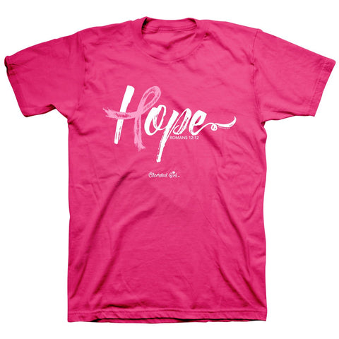 Kerusso® Adult  T-Shirt - Hope Ribbon