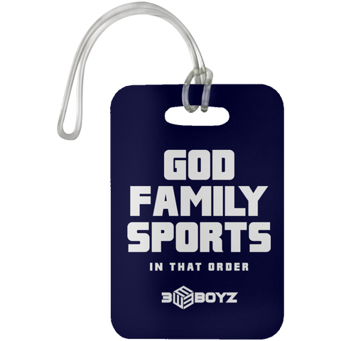 EBOYz - Luggage Tag - God Family Sports